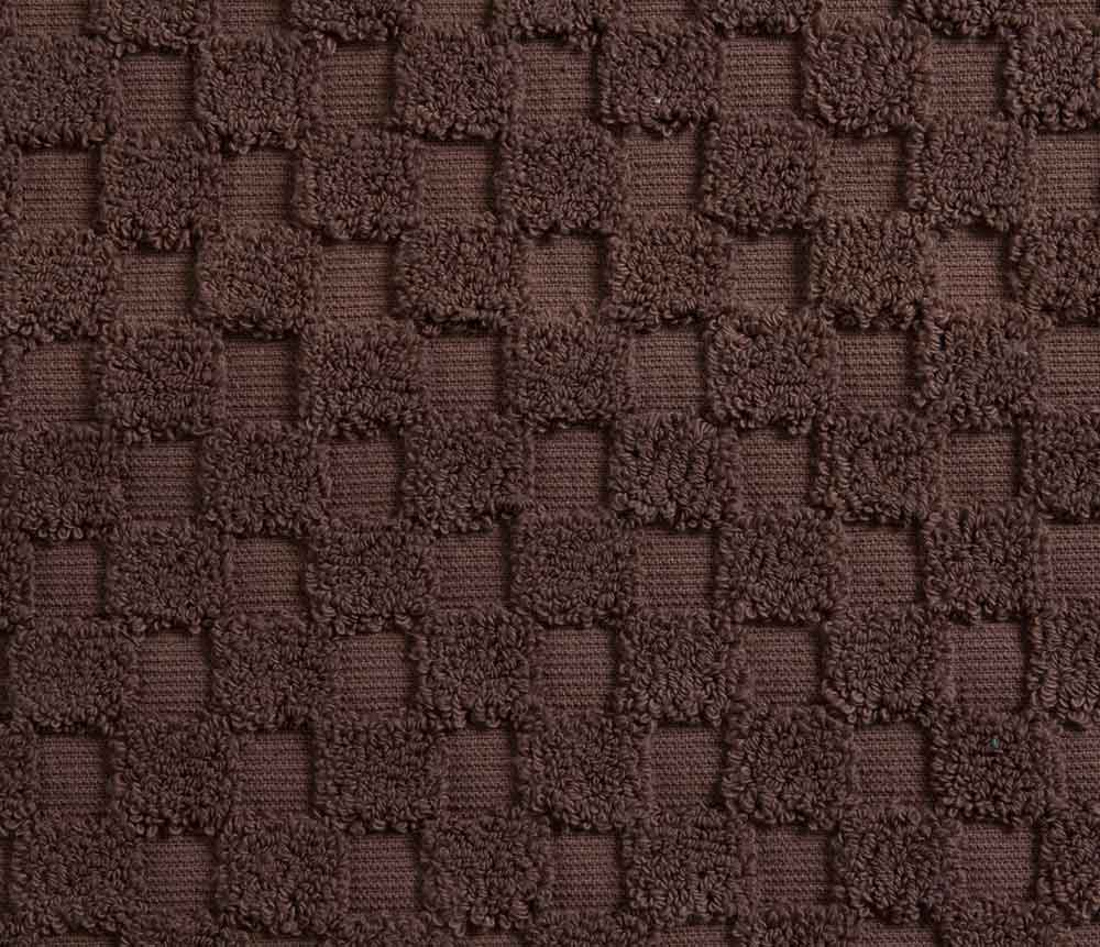 Cotton Bath Mat - Chocolate