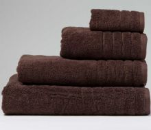Chocolate Jumbo Bath Sheet - 120cm x 200cm - 100% Cotton - 550GSM