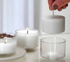 XXL ECO Tea Light - Motive: Daisy- Dekorativ - 18 Hours - Kimi's Beauty Shop