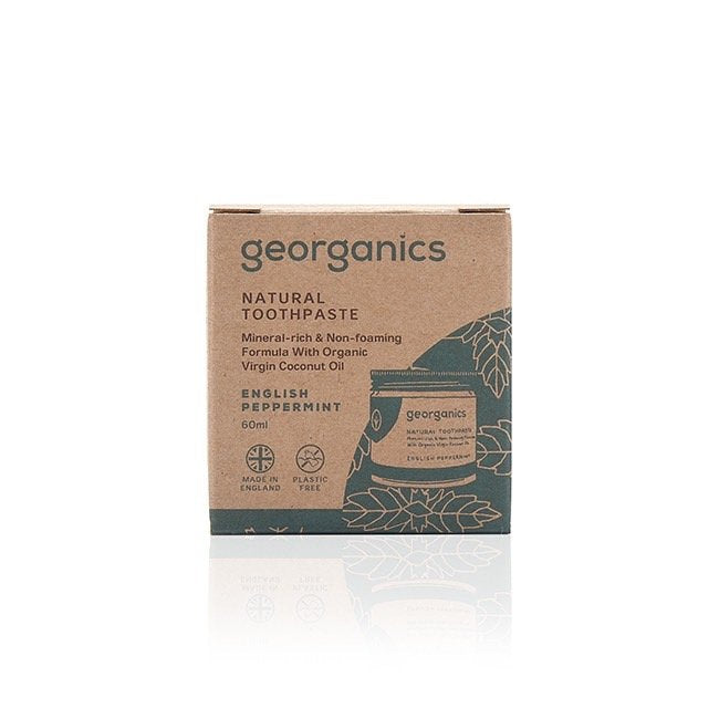 Natural Toothpaste - English Peppermint - 60 ml