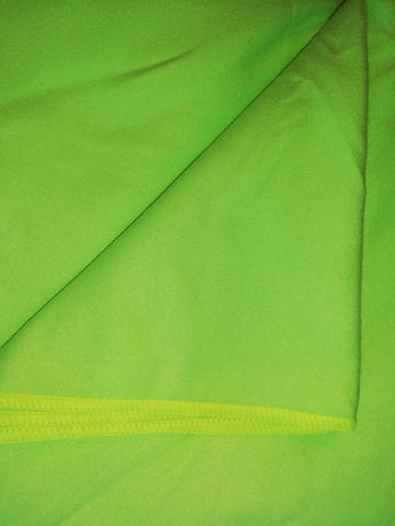 Large Microfibre Beach Towel Green 80cm x 175cm