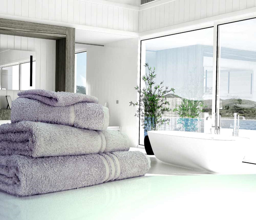 Hand Towel Silver Grey