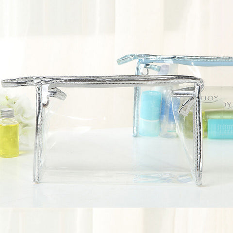 PVC transparent Cosmetic / Toiletry Bag - Kimi's Beauty Shop