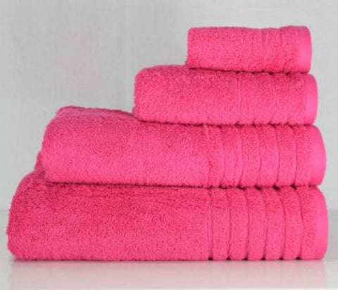 Luxury Cotton Face Cloth Pink