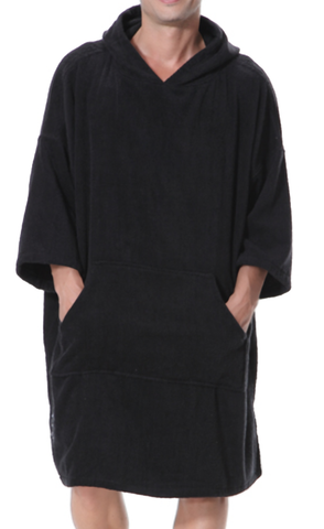 Black Adult Changing Robe XL Size