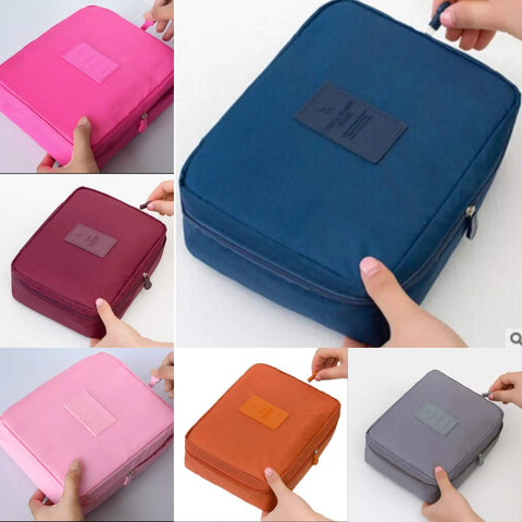 Multifunctional travel Cosmetic/Toiletry Bag Various colours