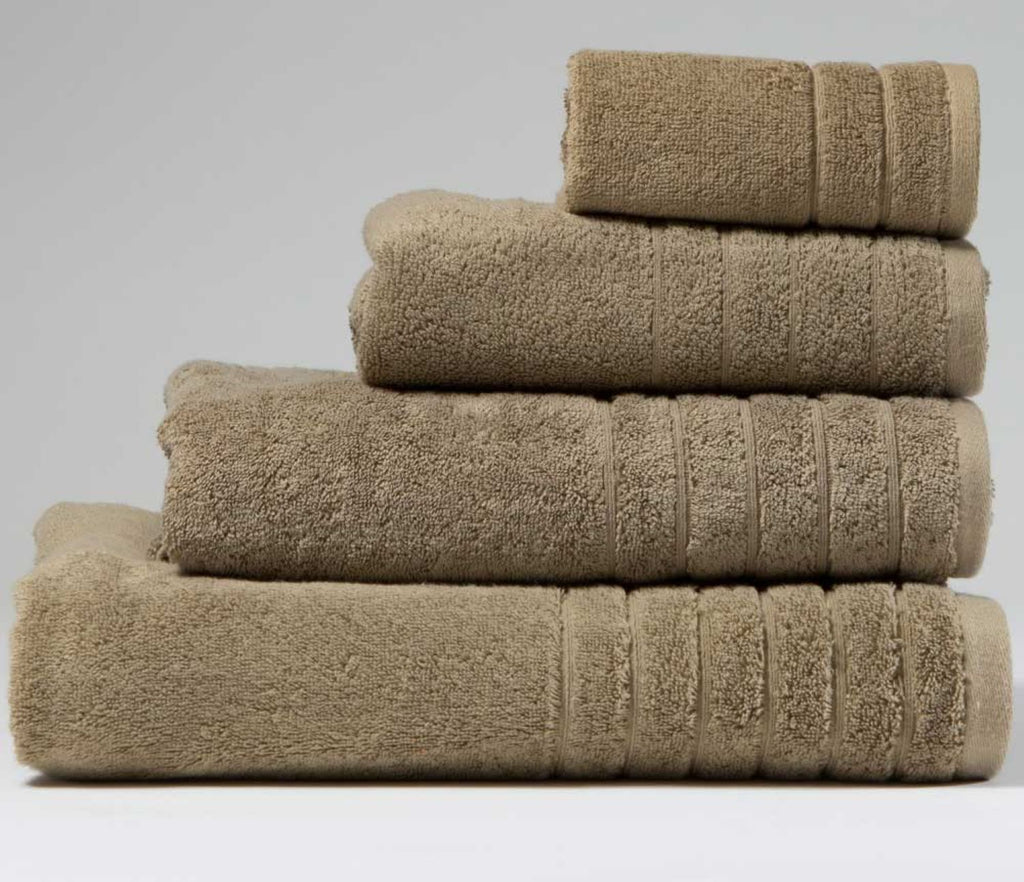 Luxury Cotton Hand Towel Mocha