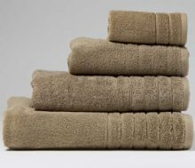 Mocha Jumbo Bath Sheet - 120cm x 200cm - 100% Cotton - 550GSM