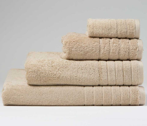 Luxury Cotton Bath Sheet Natural Linen