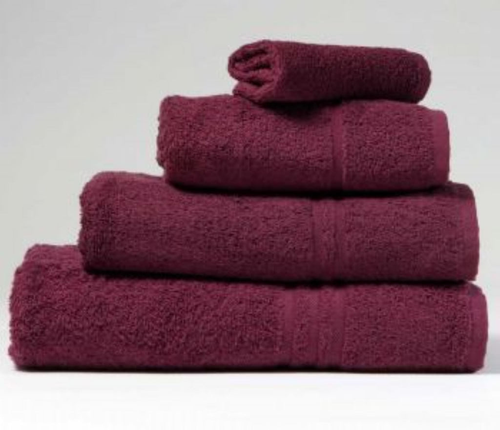 Plum Bath Towel