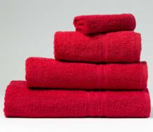 Red  - Bath Towel - 70cm x 130cm - 500 GSM - 100% Cotton