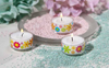 XXL ECO Tea Light - Motive: Pril Flowers- Dekorativ - 18 Hours - Kimi's Beauty Shop