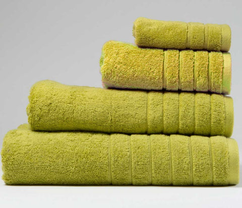 Luxury Cotton Hand Towel Sea Grass Green