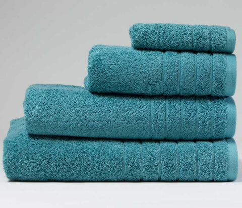 Luxury Cotton Face Cloth Teal