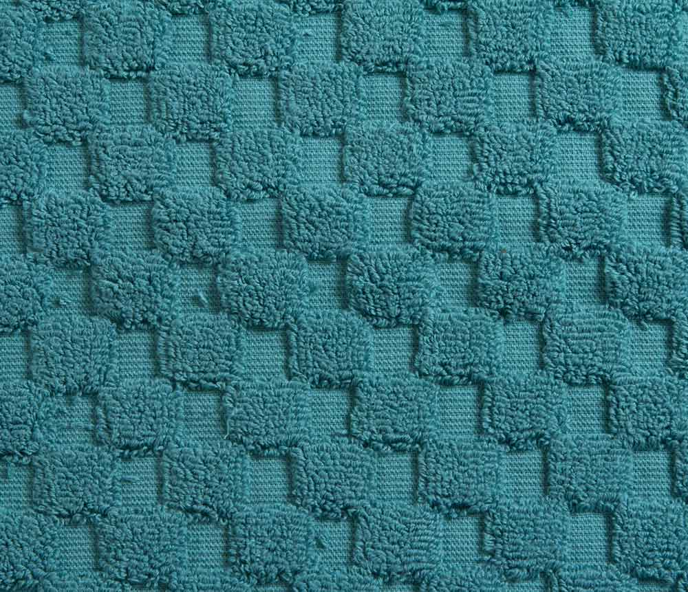 Cotton Bath Mat - Teal