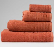 Terracotta Bath Sheet - 100cm x 150cm - 100% Cotton - 650GSM