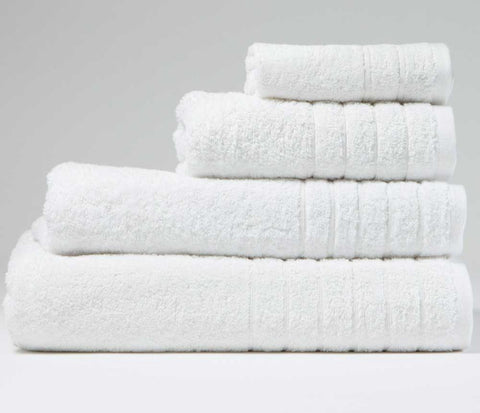 Luxury Cotton Bath Towel Snow White