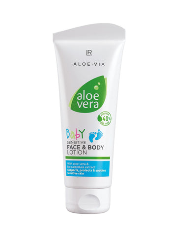 Aloe Vera Baby Sensitive Face & Body Lotion