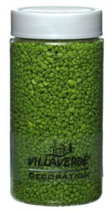Decoration Granulate Green 2 – 3 mm - 650g