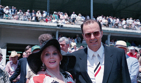 Preston Madden Zsa Zsa Gabor, Churchill Downs