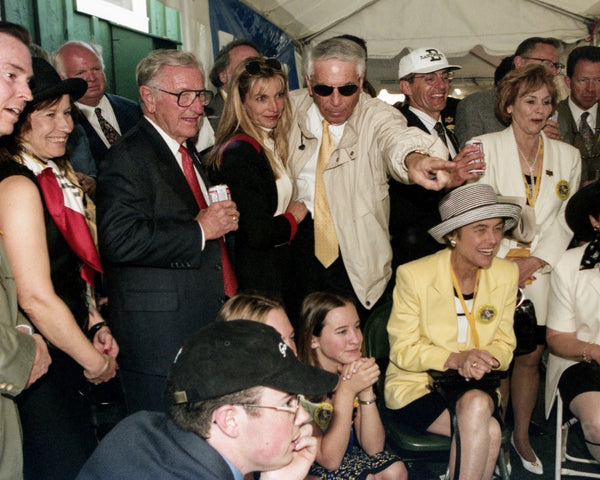Watching the Preakness