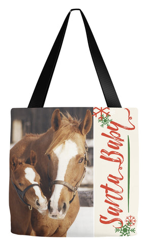 Mare and Foal, Holiday Tote