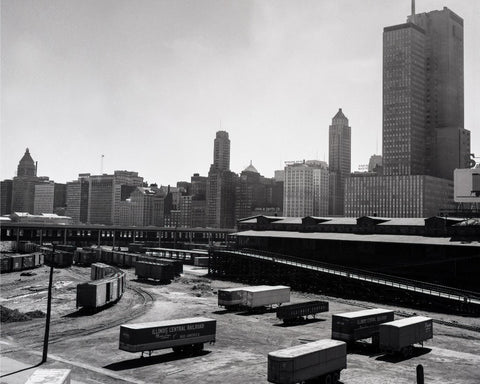 Chicago Train Yard