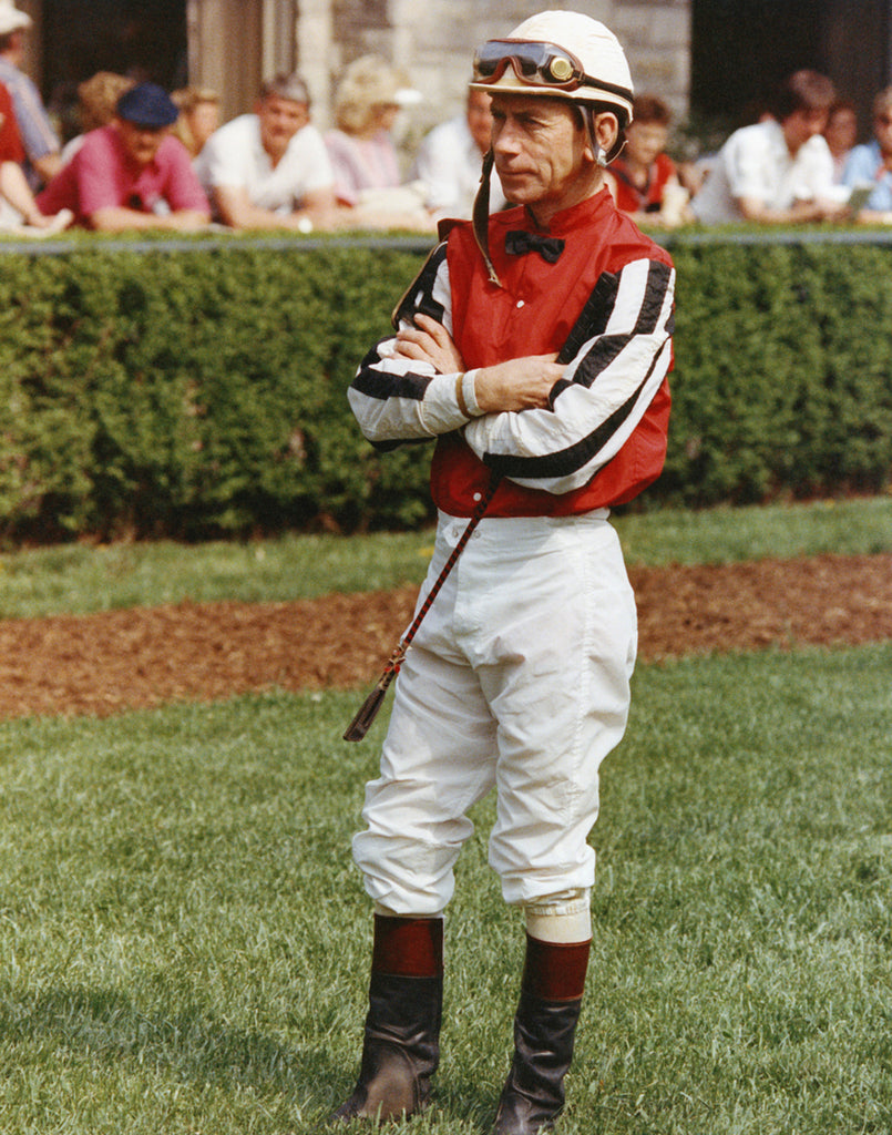 Jockey in Saddling Paddock