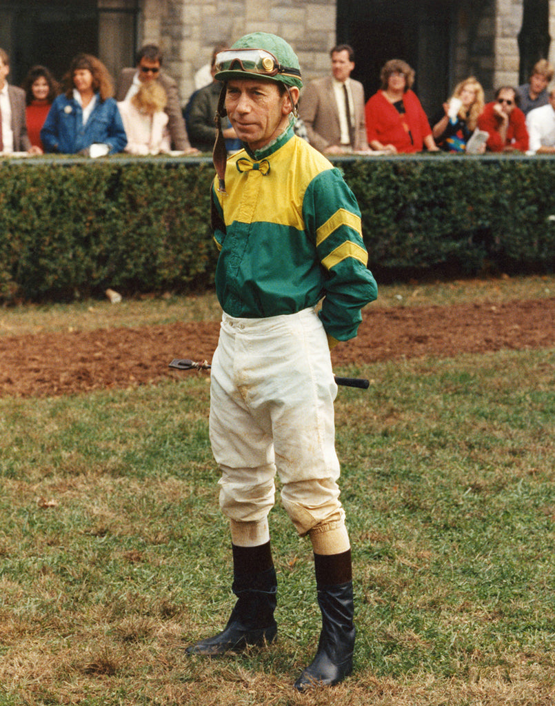 Jockey In Keeneland Saddling Paddock II