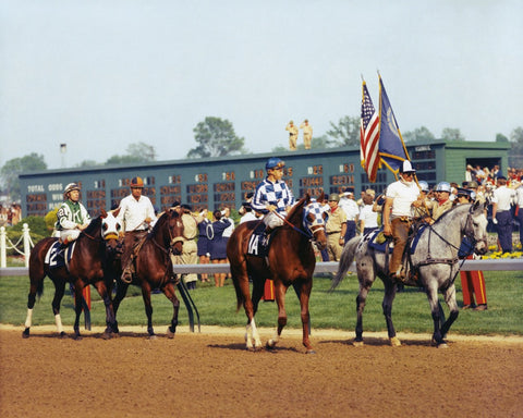 Secretariat Kentucky Derby Post Parade