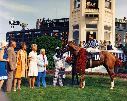 Secretariat in Kentucky Derby Winners Circle