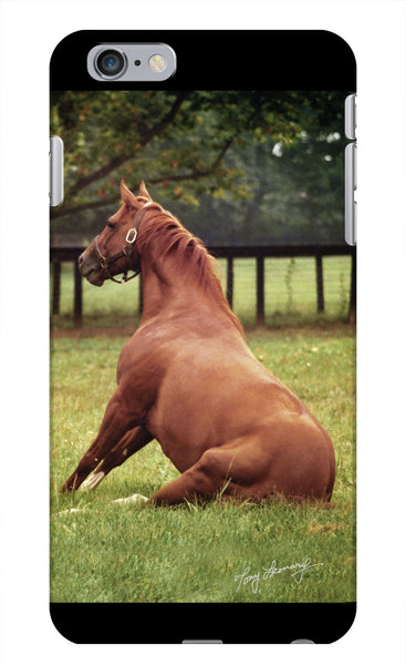 Secretariat iPhone Case