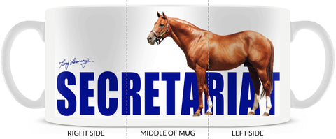 Secretariat Outline 15oz Mug