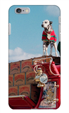 Budweiser Dalmatian iPhone Case