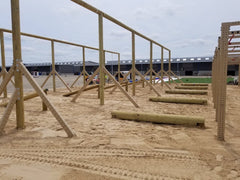 Building the Crossfit Games Obstacle Course