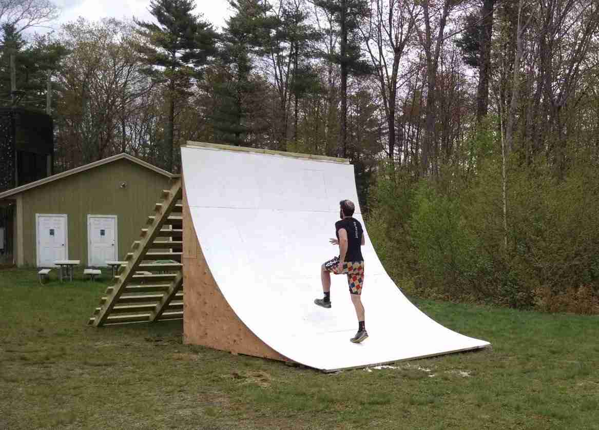 Quarter Pipe/Warped Wall