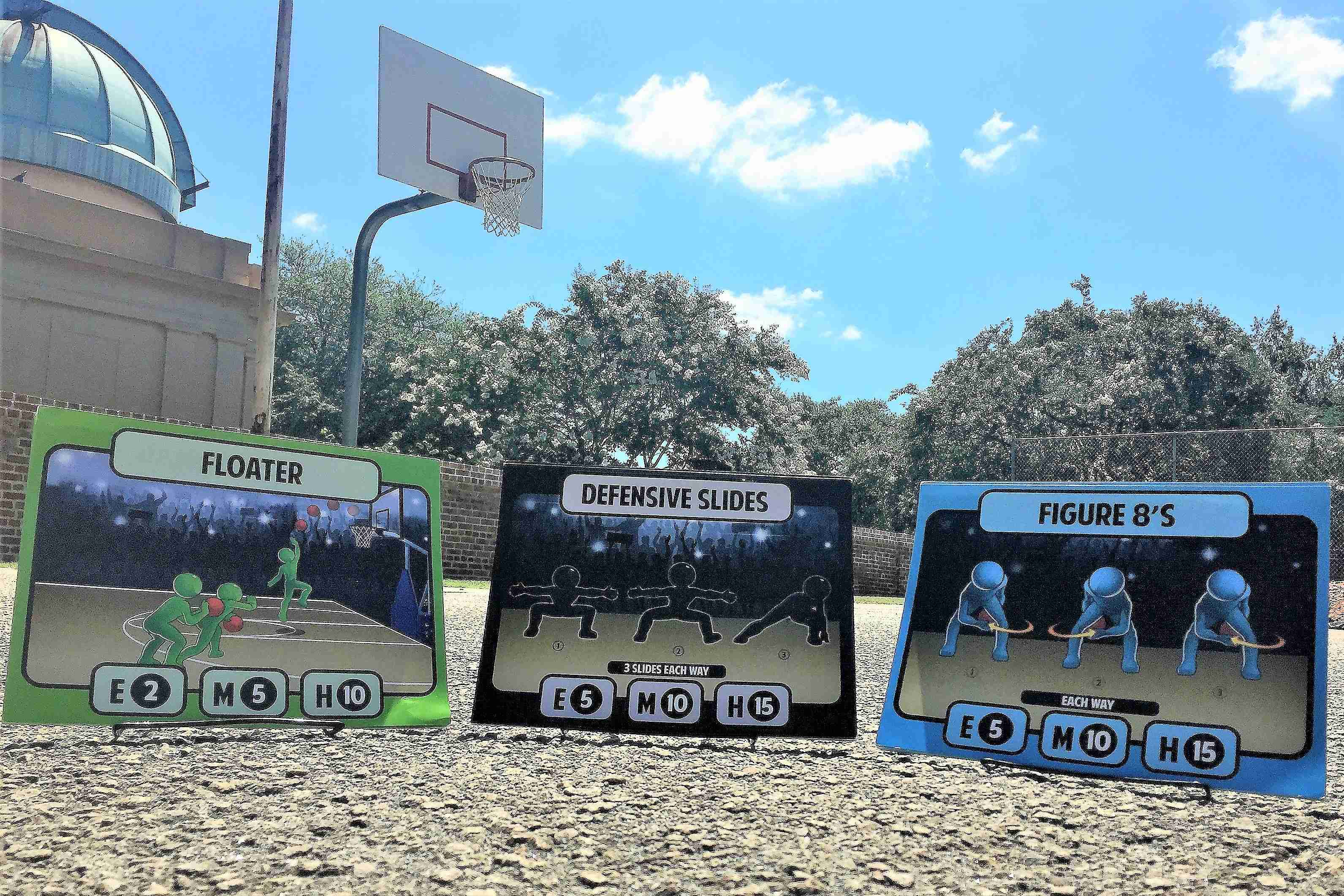 The Basketball Station Card Game