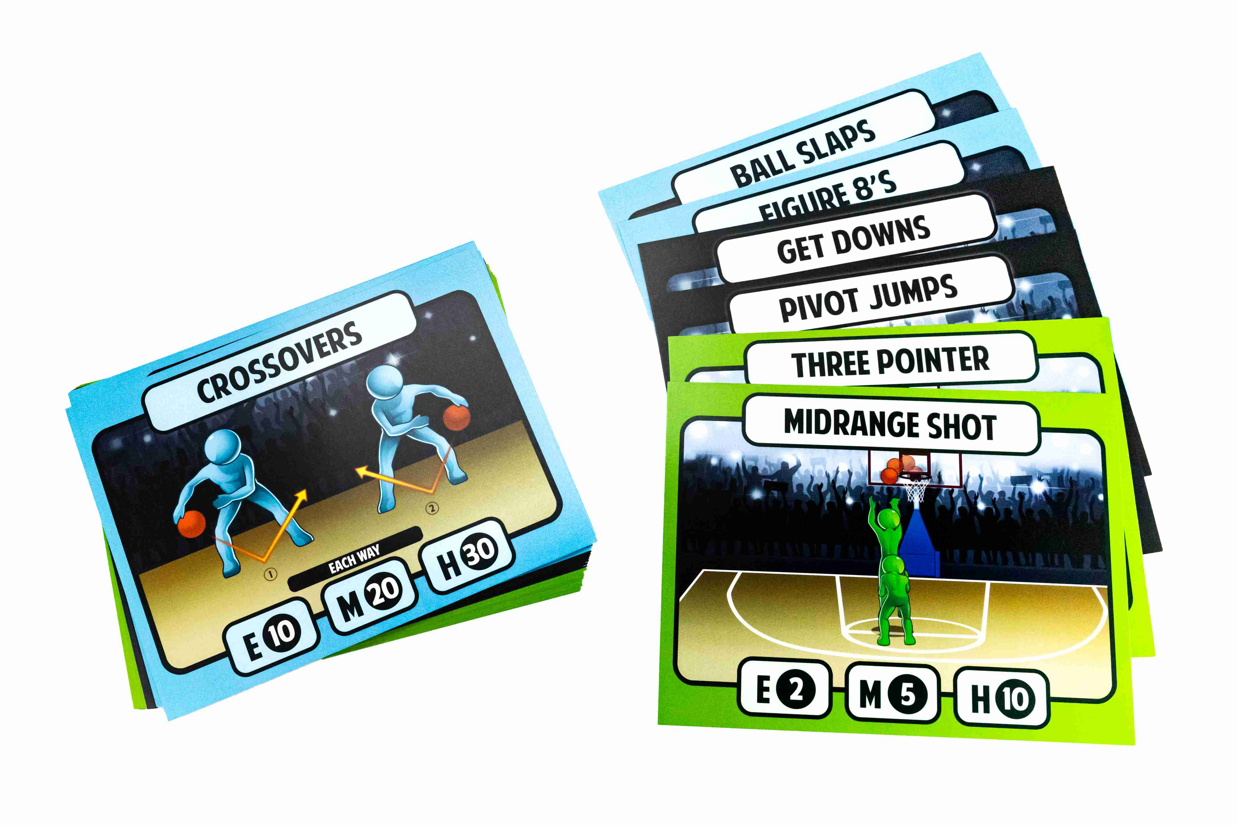 Basketball Station Cards Primary