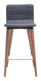 ZUO Jericho Counter Chair Gray - Set of 2 - 100272 - Your Kitchen Island - 3