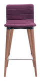 ZUO Jericho Counter Chair Purple - Set of 2 - 100273 - Your Kitchen Island - 3
