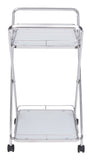 ZUO Vesuvius Kitchen Cart Stainless Steel 100369 - Your Kitchen Island - 4