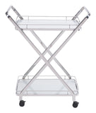 ZUO Vesuvius Kitchen Cart Stainless Steel 100369 - Your Kitchen Island - 2
