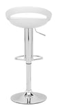 ZUO Tickle Bar Stool White - 300022 - Your Kitchen Island - 2