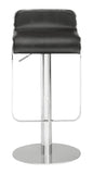ZUO Equino Bar Stool Black and Chrome - 301111 - Your Kitchen Island - 3
