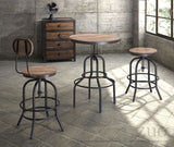 ZUO Twin Peaks Bar Stool Distressed Natural - 98183 - Your Kitchen Island - 5