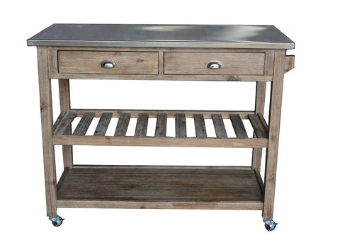 Boraam Sonoma Kitchen Cart - Your Kitchen Island - 1