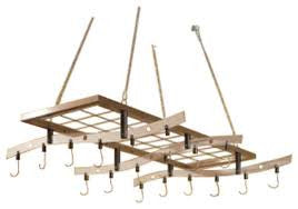 Zojila Amazon Ceiling Pot Rack and shelf - Your Kitchen Island - 1