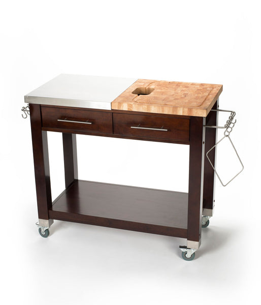Chris & Chris Espresso Pro Chef Work Station Kitchen Cart - Your Kitchen Island - 1