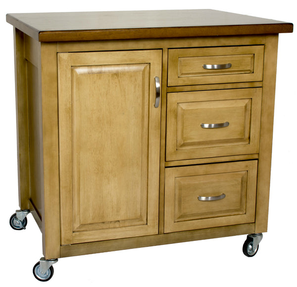 Sunset Trading Brook Kitchen Cart - Your Kitchen Island - 1
