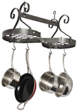 Enclume Infinity Ceiling Pot Rack Hammered Steel PR44 - Your Kitchen Island - 2